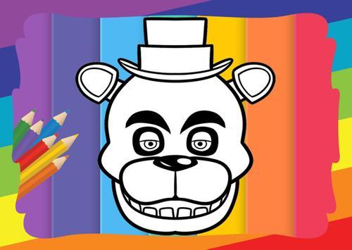 Coloring Book Five Nights Kids Apk Screenshot