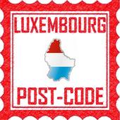 Luxembourg PostCode icon