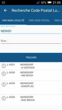 Luxembourg PostCode screenshot 1