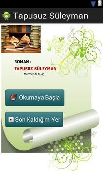 İslami Roman: Tapusuz Süleyman poster