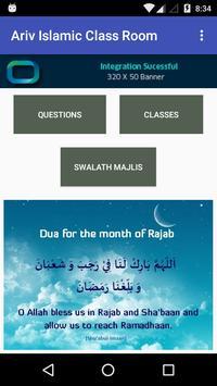 Ariv Islamic Class Room poster