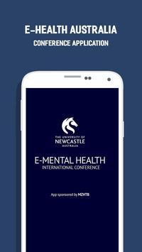 E Mental Health Conference poster