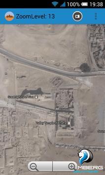 Egypt pyramids satellite screenshot 4