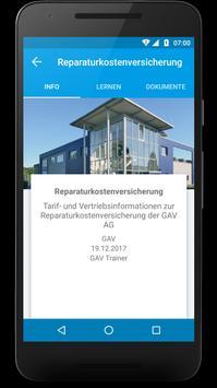 GAV Akademie screenshot 1
