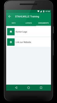 Kontor m-learning screenshot 4