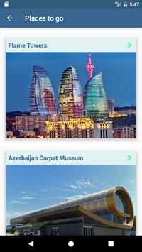 Travel Guide Baku apk screenshot
