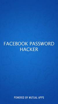 Password Hacker for FB Prank poster
