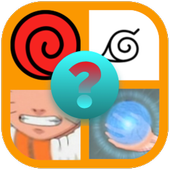 Ninja Manga Quiz - 4 PICS 1 Word icon