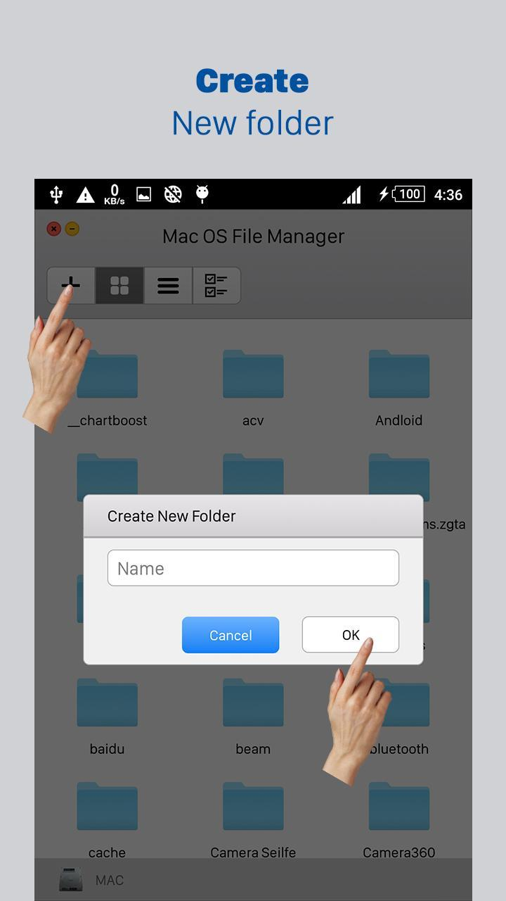 File Browser For Mac Os
