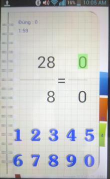 ToanCap1 screenshot 1