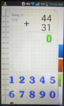 ToanCap1 screenshot 2