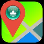 Macau Map icon