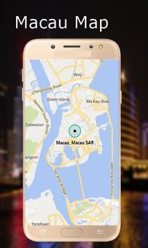 Macau Map poster