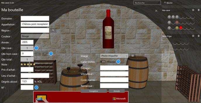 My wine cellar screenshot 8