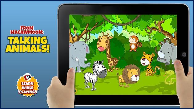 Animals Talking for kids - apk screenshot