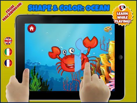 Ocean Shape Color screenshot 7