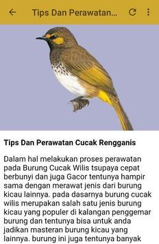 Kicau Cucak Rengganis Fighter apk screenshot