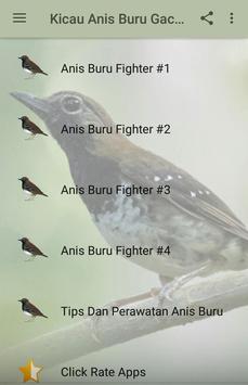 Kicau Anis Buru Gacor Fighter poster