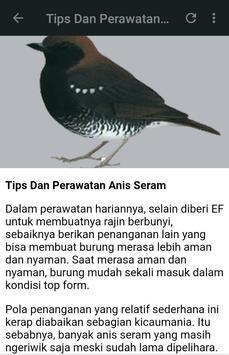 Kicau Anis Seram Gacor Fight apk screenshot