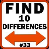 Menemukan 10 perbedaan ikon