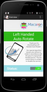 Left Handed Auto Rotate Free poster