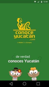 ConoceYucatan Beta poster
