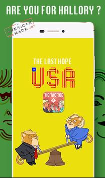 Trump Vs Hillary Tic Tac toe apk screenshot