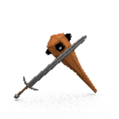 mace and sword arena icon