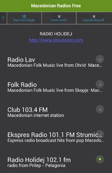 Macedonian Radios Free apk screenshot