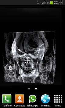 Skulls Cube 3D LWP screenshot 4