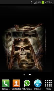 Skulls Cube 3D LWP screenshot 2