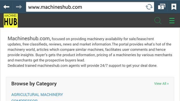 Machineshub apk screenshot