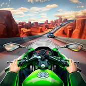 Moto Racing 2: Burning Asphalt icon