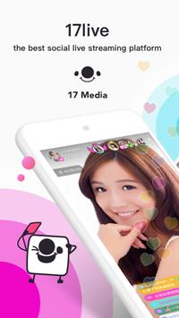 17 Live - Aplikasi Live Broadcast Video Streaming poster