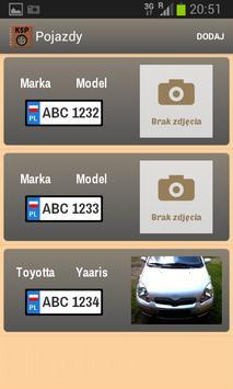 Książka Serwisowa Pojazdu screenshot 1