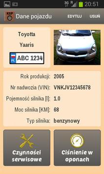 Książka Serwisowa Pojazdu screenshot 2