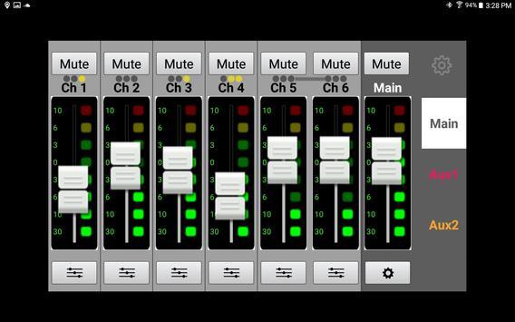 Mackie MixerConnect apk screenshot
