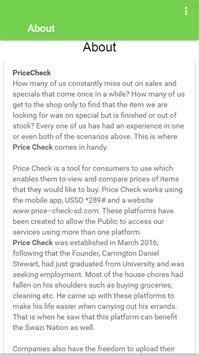 Price Check Swaziland apk screenshot