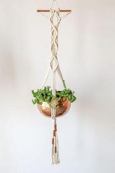 Macrame Plant Hanger Ideas screenshot 4