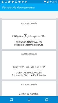 Formulas de Macroeconomía screenshot 4