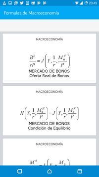 Formulas de Macroeconomía screenshot 5