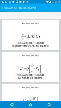 Formulas de Macroeconomía screenshot 6
