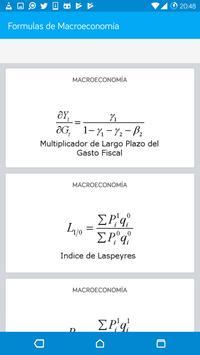 Formulas de Macroeconomía screenshot 2