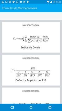 Formulas de Macroeconomía screenshot 3