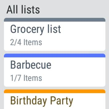 My Grocery List - Shop & ToDo apk screenshot