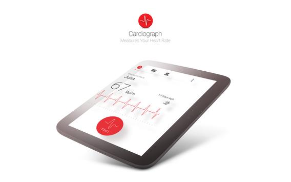 Cardiograph - Heart Rate Meter apk screenshot