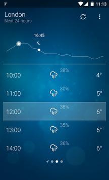 Tempo - Weather apk imagem de tela