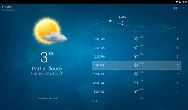 Clima - Weather captura de pantalla de la apk