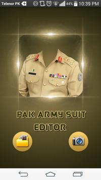 Pakistan army suit maker 2017 poster