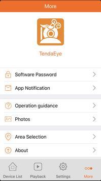 TendaEye apk screenshot
